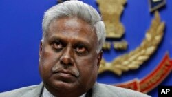 Kepala Biro Pusat Investigasi India (CBI), Ranjit Sinha (Foto: dok).
