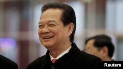 """Thủ tướng Việt Nam Nguyễn Tấn Dũng được ông Bloomberg ca ngợi là có """"các kế hoạch táo bạo""""."""