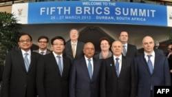 Encontro dos ministros das finanças do BRICS em Durban na África do Sul