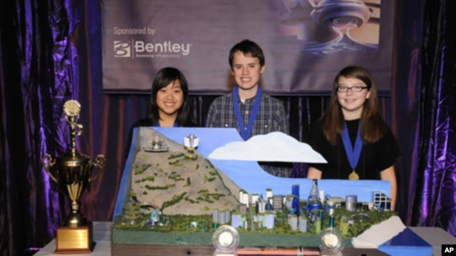 Davidson IB Middle School from North Carolina captured the top prize in the 2010 National Engineers Week Future City Competition with Mamohatra, a future metropolis that combines advanced technologies, green principals and cultural diversity.