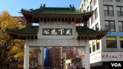 华裔政治影响力增加(美国之音 杨晨拍摄)