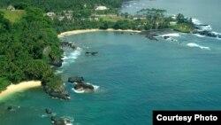 Zona sul de São Tomé