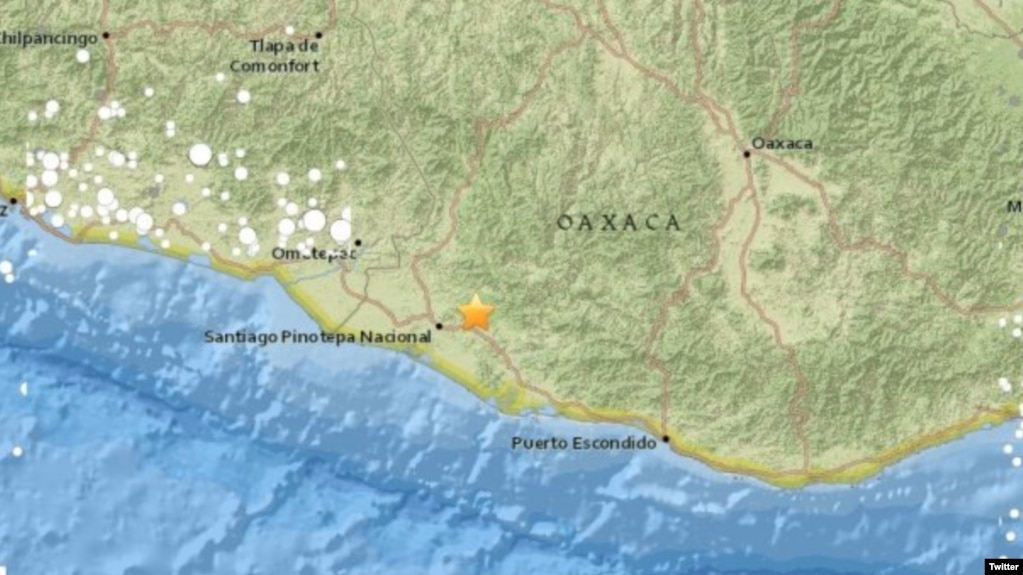 terremoto de 7 2 estremece costa de oaxaca méxico