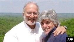 Ալեն Գրոսը՝ տիկնոջ հետ