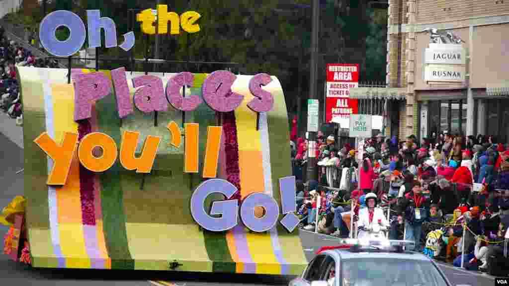 1 Theme / 今年游行主题:喔,你将去的地方