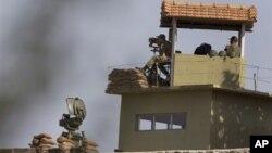 Наблюдательная вышка турецких пограничников на границе с Сирией (архивное фото)
