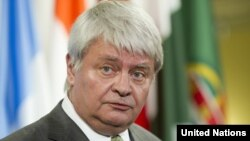 Ketua Penjaga Perdamaian PBB Herve Ladsous (foto: dok).