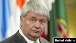 Ông Herve Ladsous, giới chức Liên hiệp quốc đặc trách các hoạt động gìn giữ hòa bình