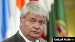 Kepala urusan penjaga perdamaian PBB Herve Ladsous (Foto: dok).
