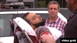 警方擒獲紐約爆炸案嫌疑人拉哈米 (KABC視頻截圖)