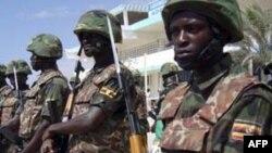 Binh sĩ thuộc Phái bộ Liên hiệp châu Phi đang trợ giúp cho Somalia