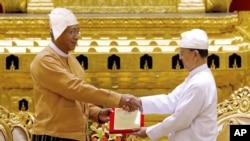 Myanmar Swears in First Civilian Government Since 1962