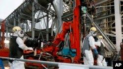 PLTN Fukushima, Jepang (Foto: dok. AP)