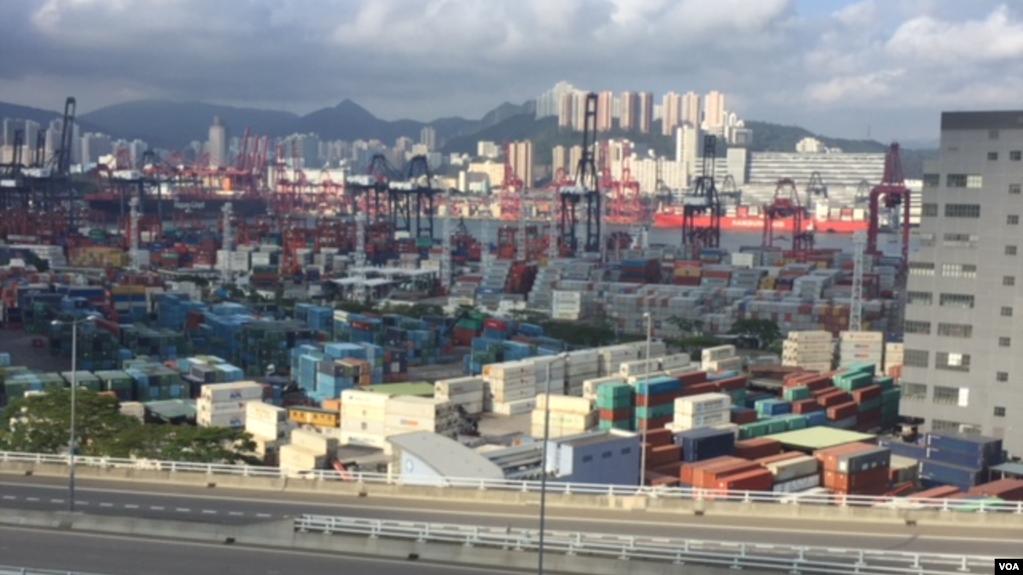 美中贸易谈判摊牌,香港地位或许提升(图)
