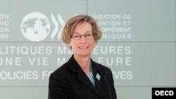 OECD Baş Ekonomisti Catherine Mann.