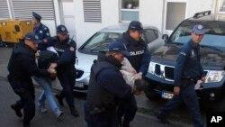 Затримання підозрюваних у причетності до перевороту в Чорногорії 16 жовтня 2016 р.