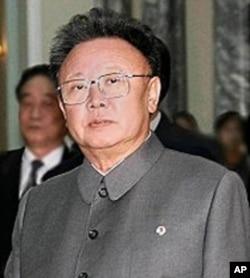朝鲜领导人金正日