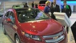 Mobil Ramah Lingkungan Marak di Detroit Auto Show - Laporan VOA 20 Januari 2012