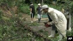 جاپان: طوفان سے 24 افراد ہلاک، 50 لاپتا