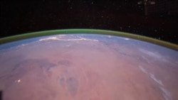Quiz - Green Glow Spotted for First Time Around Mars