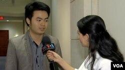 Trà Mi phỏng vấn blogger Nguyễn Anh Tuấn.