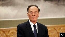中共中纪委书记王岐山 (资料照片)