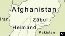 Peta wilayah Afghanistan dan letak propinsi Zabul.