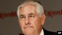 Shugaban kamfanin mai na Exxon Mobil, Rex Tillerson