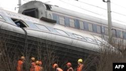 قطار مسافربری مسکو- سن پترزبورگ احتمالا بر اثر اقدام تروریستی از ریل خارج شده است