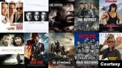 افغانستان پر بننے والی فلموں کے سلسلے کی کڑی 1987 میں ریلیز ہونے والی جیمز بانڈ کی فلم 'دی لیونگ ڈے لائٹس' سے ملتی ہے۔