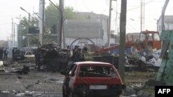 در بمب گذاریهای انتحاری در داغستان بیش از ۱۰۰ نفر کشته و زخمی شدند