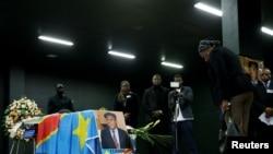 En images : hommage rendu à Etienne Tshisekedi à Bruxelles