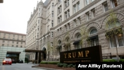 Trump International Hotel di Washington DC.