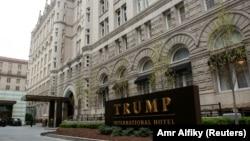 華盛頓的特朗普酒店。 (2019年4月18日)