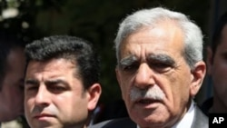 Selahattin Demirtaş ve Ahmet Türk (Arşiv)
