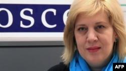 Bà Dunja Mijatovic, Đại diện OSCE về Tự do Truyền thông.