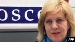 AGİT'in basın özgürlüğü sorumlusu Dunja Mijatovic