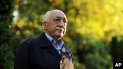 FILE - In this Sept. 24, 2013 file photo, Turkish Islamic preacher Fethullah Gulen is pictured at his residence in Saylorsburg, Pa.