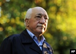 FILE - Turkish Islamic preacher Fethullah Gulen is pictured at his residence in Pennsylvania, Sept. 24, 2013.