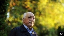 L'ex-prédicateur Fethullah Gulen pris en photo à Saylorsburg, Pennsylvanie, le 24 septembre 2013.