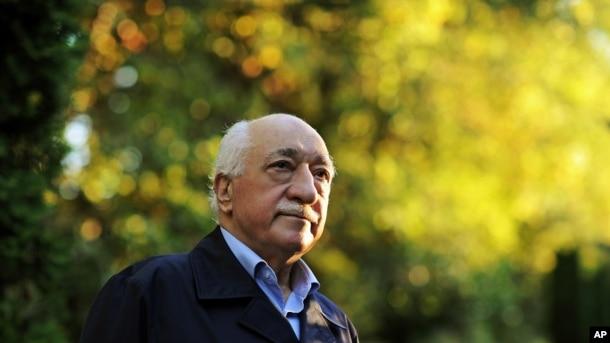 Fethullah Gülen en su residencia en Saylorsburg, Pensilvania.
