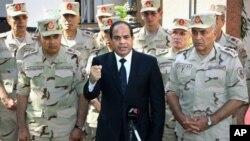 HRW menilai UU anti-teror Mesir memberi otoritas pemerintahan Presiden Abdel Fattah el-Sissi untuk menindas pembangkangan dan lawan politiknya (foto: dok).