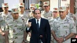 Misr Prezidenti Abdul Fattoh al-Sissiy.