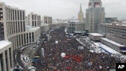 تداوم تظاهرات در روسیه
