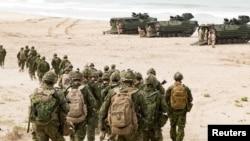 加拿大軍隊參加6月28日子加州舉行的環太軍演。