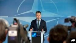 NATO အဖြဲ႔ အတြင္းေရးမွဴးခ်ဳပ္ Anders Fogh Rasmussen