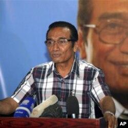 Francisco Guterres Lu Olo, líder da FRETILIN, e vencedor da primeira volta das presidenciais em Timor-Leste