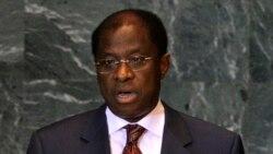 Déclaration de la libération des prisonniers politiques par le ministre congolais de la Justice Alexis Thambwe Mwamba