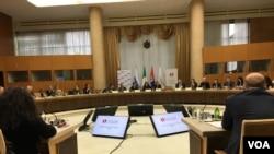 Konferencija Saradnja antikorupcijskih institucija u regionu, koja je održana u Palati Srbija u Beogradu 14. decembra 2017.