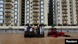 Monsoon Floods Kill 80 in Pakistan, Afghanistan